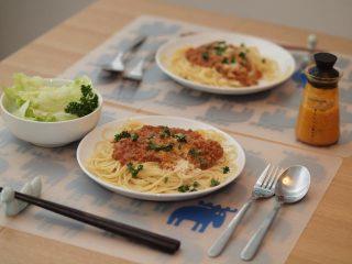 ランチに☆ミートスパゲティー☆