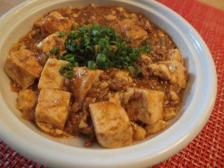 化学調味料を使わずに麻婆豆腐