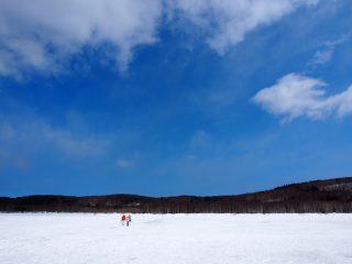 氷上釣り 再び 零下5度の再挑戦
