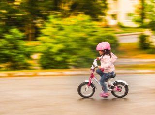 自転車乗れるようになりました