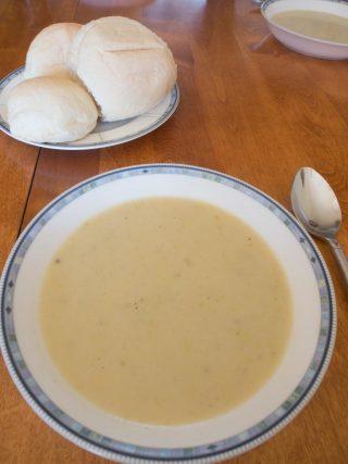 アンドレアの得意料理 ポテトスープ