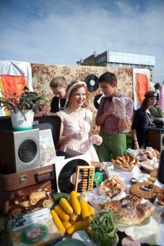 ロシアの文化祭