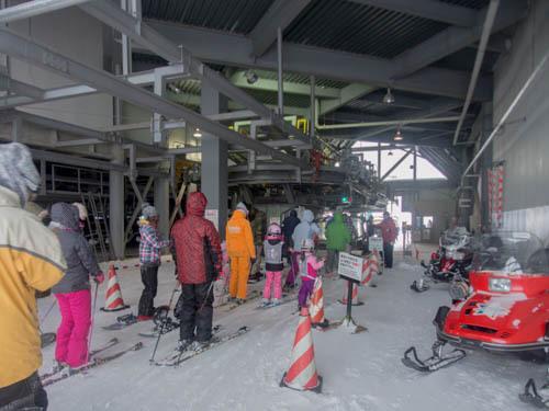 5歳児のスキースクール