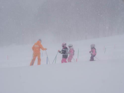 幼稚園年長のスキースクール