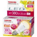 演色性の高いLED電球 光の色がキレイなLEDは?