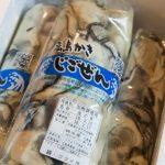 広島 地御前の大粒牡蠣