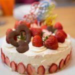 パパの誕生日ケーキ