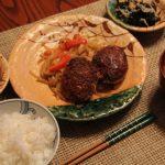 ロシアで日本食 ハンバーグ