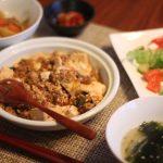 手作りテンメンジャンで麻婆豆腐
