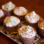誕生日会の準備 カップケーキ試作