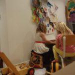 我が家のお絵かきコーナー