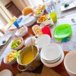シャーラ一家と夕食