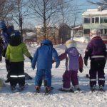 初めてのスキー教室