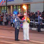聖火が街にやってきた ソチオリンピック